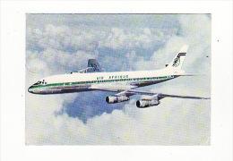 Carte 1970 AIR AFRIQUE : Avion Jet DC8 TURBOFAN - 1946-....: Moderne