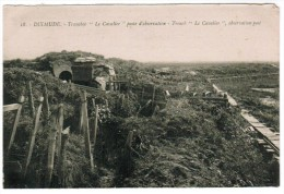 Diksmuide, Dixmude, Tranchée, Le Cavalier, Poste D'observation (pk12269) - Diksmuide