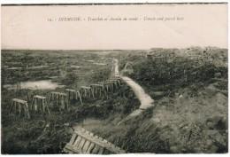 Diksmuide, Dixmude, Tranchée Et Chemin De Ronde (pk12270) - Diksmuide