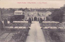 Cp , 85 , LUÇON , Collège Richelieu , La Cour D'Honneur - Lucon
