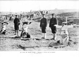 Exécution De Coréens Par Les Japonais     Gravure - Document  1907 - Vieux Papiers
