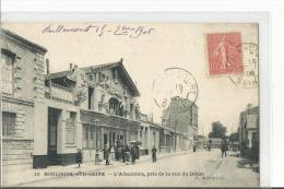N 19 BOULOGNE L ALHAMBRA PRIS DE LA RUE DU DOME  PERSONNAGES ACTION - Boulogne Billancourt
