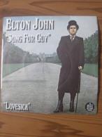 MUSIQUE - VINYL 45 TOURS - ELTON JOHN - SONG FOR GUY / LOVESICK - ROCKET RECORDS - 1978 - BON ETAT - Disco, Pop