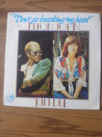 MUSIQUE - VINYL 45 TOURS - ELTON JOHN - DON´T GO BREAKING MY HEART / SNOW QUEEN - ROCKET RECORDS - 1976 - TRES BON ETAT - Disco, Pop