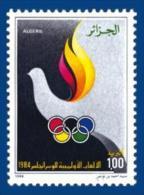 Algeria Algerie Algerien Olympic Games Olympics Jeux Olympiques Los Angeles 1984 MNH - Summer 1984: Los Angeles
