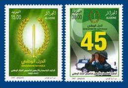 Algeria Algerie Algerien Full Set Gendarmerie 2007 - Police - Gendarmerie