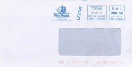 FRANCE  -  EMA  - Affrancatura Meccanica  -  QUIMPER  -  PETIT NAVIRE - Frankrijk