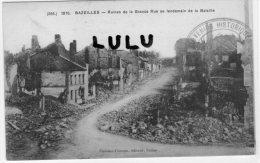 DEPT 08 : Bazeilles , Ruines De La Grande Guerre Au Lendemain De La Bataille - France