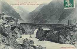 Isère - Ref A 526 - Gorges Du Vénéon Et Vieux Pont Du Plan Du Lac -  Carte Bon état - - Andere Gemeenten