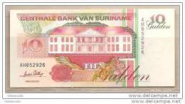 Suriname - Banconota Non Circolata Da 10 Fiorini - 1996 - Suriname