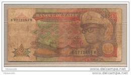 Zaire - Banconota Circolata Da 500 Zaires - 1989 - Zaire