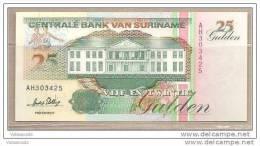 Suriname - Banconota Non Circolata Da 25 Fiorini  - 1996 - Suriname