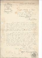ANNECY - 1915 - Dépots Du 11eme Bataillon Alpin - Noël De Nos Chasseurs Au Front . - Documenti