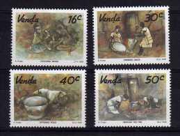 Venda - 1988 - Watercolours By Kenneth Thabo - MNH - Venda