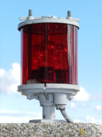 BEL ANCIEN  FANAL LAMPE De  MATURE  MARINE NATIONALE  #.5 - Technics & Instruments