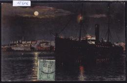"""Sousse - Départ Du Cargo """"Djurjura"""" De La Cie Maritime Touache ; 1907 : Timbre De Tunisie (12´606) - Tunisie"""