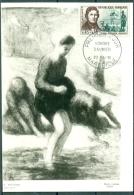 """CM-Carte Maximum Card #1961-France #Célèbrités # Art # Honoré .Daumier # Talbeau,painting """" Les Laveuses """" #Marseille - Maximum Cards"""