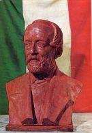 Torino - Cartolina GIUSEPPE MAZZINI (Ignoto), Palazzo Carignano, Museo Nazionale Del Risorgimento - OTTIMA F23 - Sculture