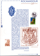 2002 - DOCUMENT OFFICIEL - ROCAMADOUR - LOT - Documents De La Poste
