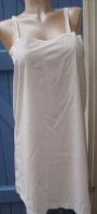 Chemise  Ancienne, Robe, Fond De Robe, Coton Fin - Lingerie