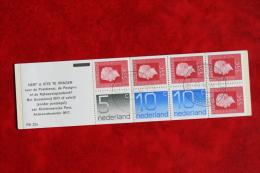 Postzegelboekje/Markenhef Tchen/Stamp Booklet - NVPH Nr. PB22a 1976 - Gestempeld / Used  NEDERLAND / NETHERLANDS - Booklets