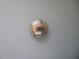 Capsule En Metal  Gris Sans Marquage - Capsules & Plaques De Muselet
