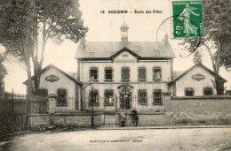 GUEUGNON  école Des Filles - Gueugnon