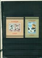AJMAN DROITS DE L'HOMME 2 BF NEUFS - Kennedy (John F.)