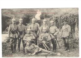 EN LORRAINE - GUERRE 1914 - LUNEVILLE - Groupe D'officiers - - Oorlog 1914-18