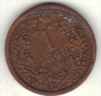 HONGRIE KM 444.1 1868 KB .  (3SP11) - Hongrie