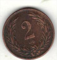 HONGRIE KM 481 1896 .  (3SP13) - Hongrie