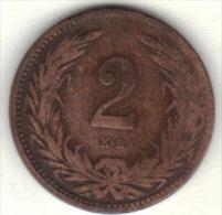 HONGRIE KM 481 1895 .  (3SP14) - Hongrie