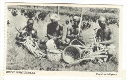 B5005 * GUINÉ-BISSAU / Guinea-Bissau. Cesteiros Indigenas. Ethnic. Africa. - Guinea-Bissau