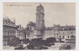 (RECTO / VERSO) RODEZ - N° 39 - PLACE DE LA CITE - Rodez