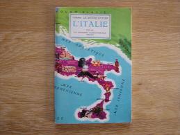 L ITALIE  Collection Le Monde Entier Album Chromos HUILES VANDEMOORTELE - Albums & Catalogues