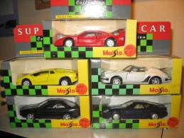 5 MAISTO SPORTS CARS - Maisto