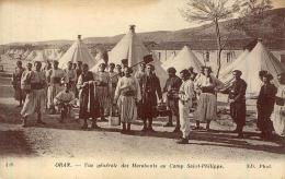 ALGERIE ORAN Vue Générale Des Marabouts Au Camp Saint-Philippe - Oran