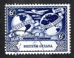 380 X)  Br. Guiana -1949  SG# 325  (o) Sc 247   Cat. £1.75 - British Guiana (...-1966)