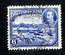 383 X)  Br. Guiana -1934  SG# 292  (o)  Sc214 Cat. £6.50 - British Guiana (...-1966)