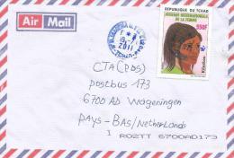 Tchad 2011 N´Djamena Women Day Hairdress 550f Cover - Tsjaad (1960-...)