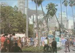 CPM Brésil - Sao Paulo - Feira Hippie Na Placa Da Republica - São Paulo
