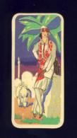Carte De Parfum. Dos Avec Publicité D´une Lingerie (3,5 X 8 Cms) (Ref.102562) - Oud (tot 1960)