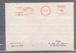 Rép. Française - TGV De Marseille à Paris En 4 H 50 - Marseille 18/11/1983   (RM1841) - Trains