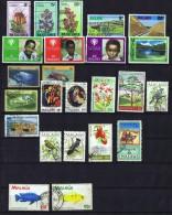 24 Timbres Utilisés Postalement  Thèmes Divers - Malawi (1964-...)