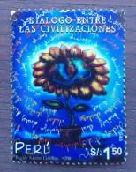 Peru / 2002 / Mi 1809 / Used DAMAGED - Peru