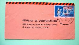 Mexico 1962 Cover To USA - J.F. Kennedy - México