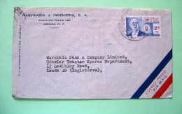 Mexico 1964 Cover To USA - Charles De Gaulle (Scott C281) - Mexique