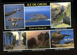 Cpm  Du 56  L´ Ile De Groix Port Tudy , Trou De Enfer , Ruelle Locmaria , Pointe Pen Men , Port Saint Nicolas   6ao4 - Groix