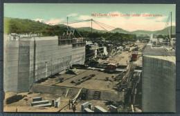 Panama Canal -  Miraflores Upper Locks Under Construction - Panama