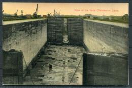 Panama Canal -  View Of The Lock Chamber Of Gatun - Panama